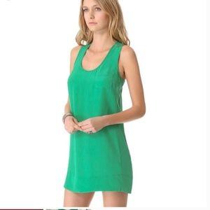 Joie silk green dress tunic